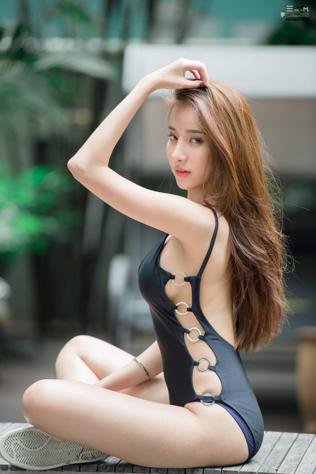 Pichana Yoosuk - Black Suit