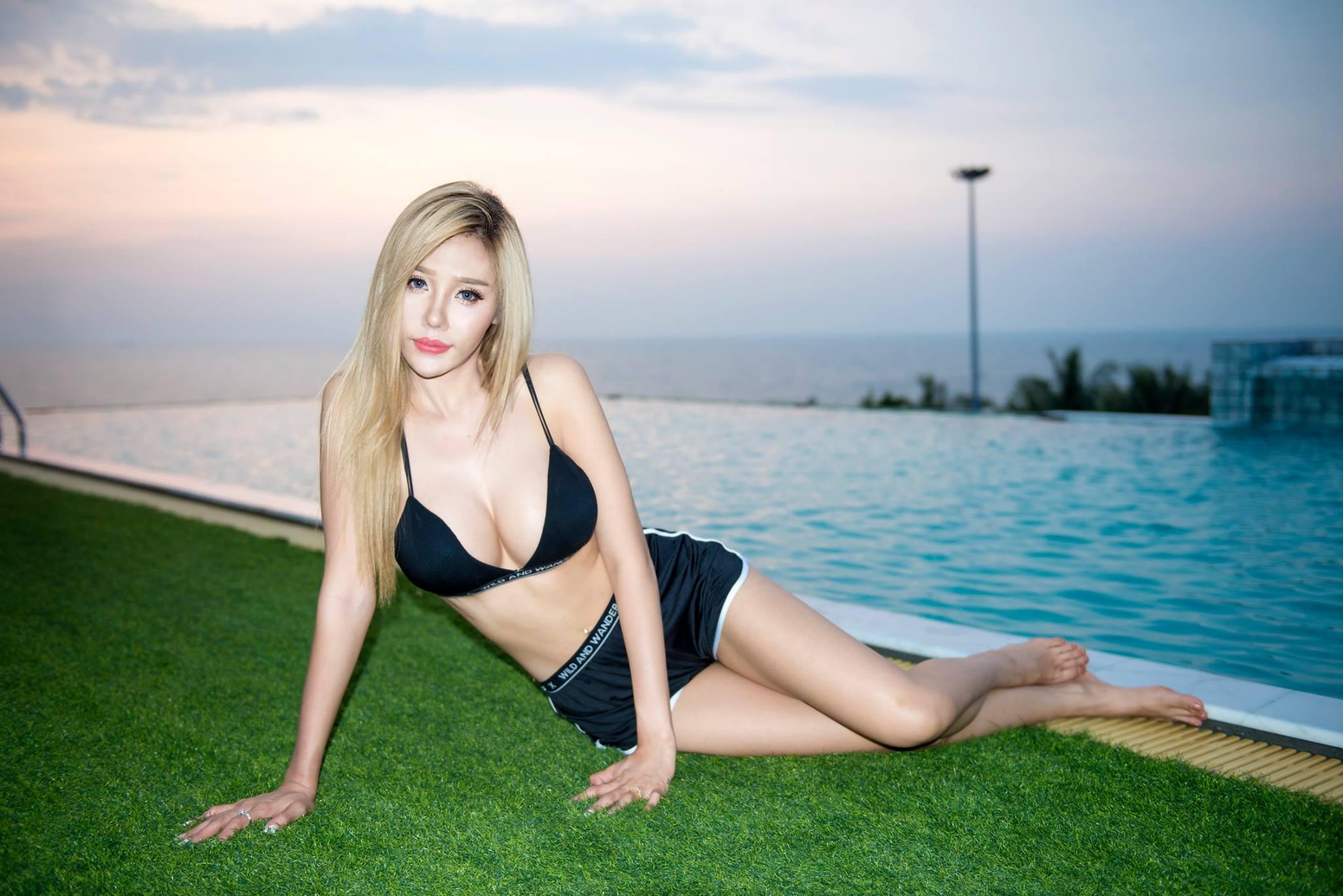 By the Pool - Napichaya Noisong